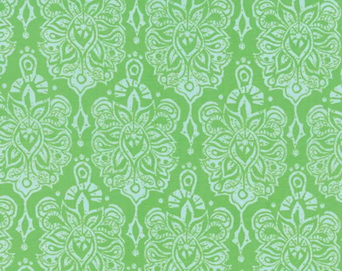 "17"" REMNANT Horizon - Earth in Green - Cotton Quilt Fabric - designed by Kate Spain for Moda Fabrics - 27191-11 (W2297)"
