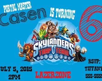 Skylander  INVITATION