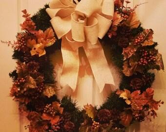 Winter Wreath, Christmas Wreath