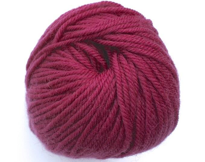 SALE*** Staples 8ply / DK - 804 Dark Rose 100g  - 100% Merino - 177m/100gm