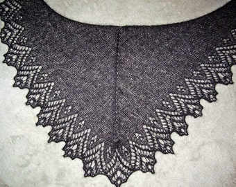 "Romantic lace scarf ""Glamour"""