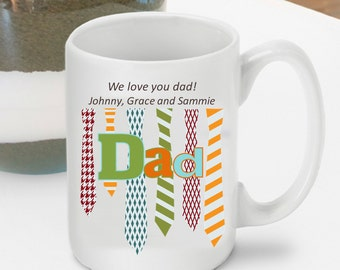 Personalized Father's Day Coffee Mug - Father's Day Gifts - GC1271