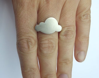 20% OFF Sterling Silver Cloud Ring