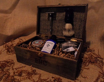 Shaving Kit for Romantic Mens Anniversary Gift