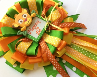 Lion king baby shower mommy to be bow- baby lion king baby shower- lion king baby shower- simba mommy pin