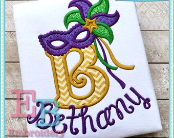 Masquerade Applique Alphabet - This design is to be used on an embroidery machine. Instant Download 5x7,9x9