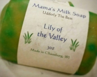 Goat Milk Soap, Lily of the Valley, Homemade Soap