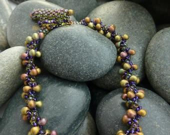 Beautiful Bead Woven Bracelet