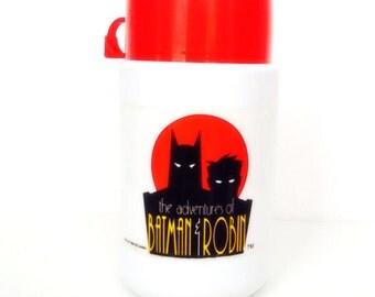 Vintage Batman and Robin Thermos
