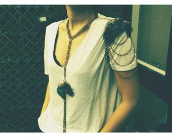 Body Chain // Gabrielle Feathers //