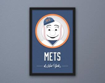 New York Mets Print