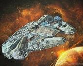 Millennium Falcon Star Wa...