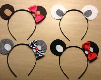 Popular Items For Bear Ears Headband On Etsy
