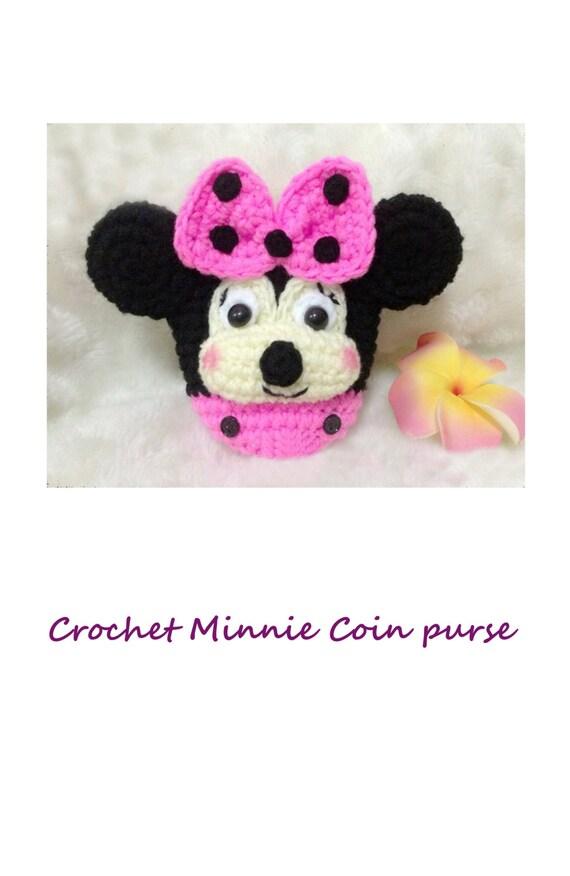 Minnie Mouse Amigurumi Crochet Pattern : No.75 PDF Pattern Ebook Amigurumi Crochet minnie mouse disney