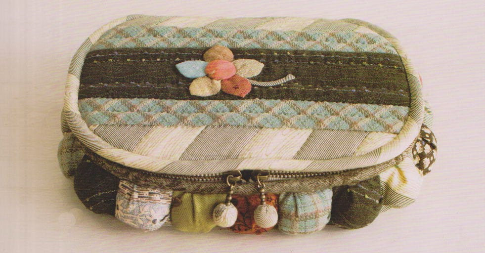 No.70 PDF Pattern Ebook Sewing Kit holder case box quilt