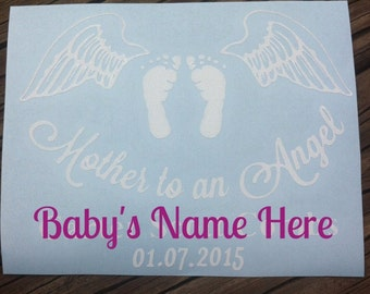Mother to an Angel Decal