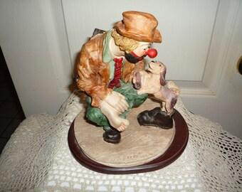 Kinglet Hobo the Clown Art Sculpture