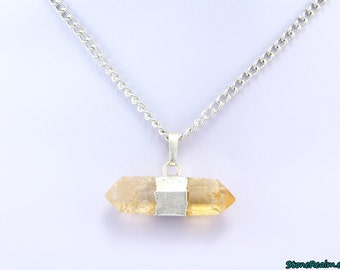 Citrine Point Necklace  , Citrine Point - P06