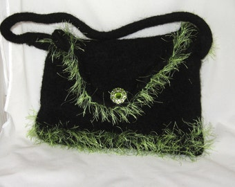 Hand Felted Purse