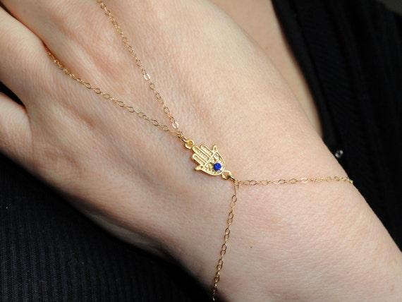 14 k gold f llung hamsa hand sklaven armband 14 k gold f llen. Black Bedroom Furniture Sets. Home Design Ideas