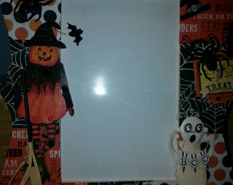 Happy Halloween 4x6 Picture Frame