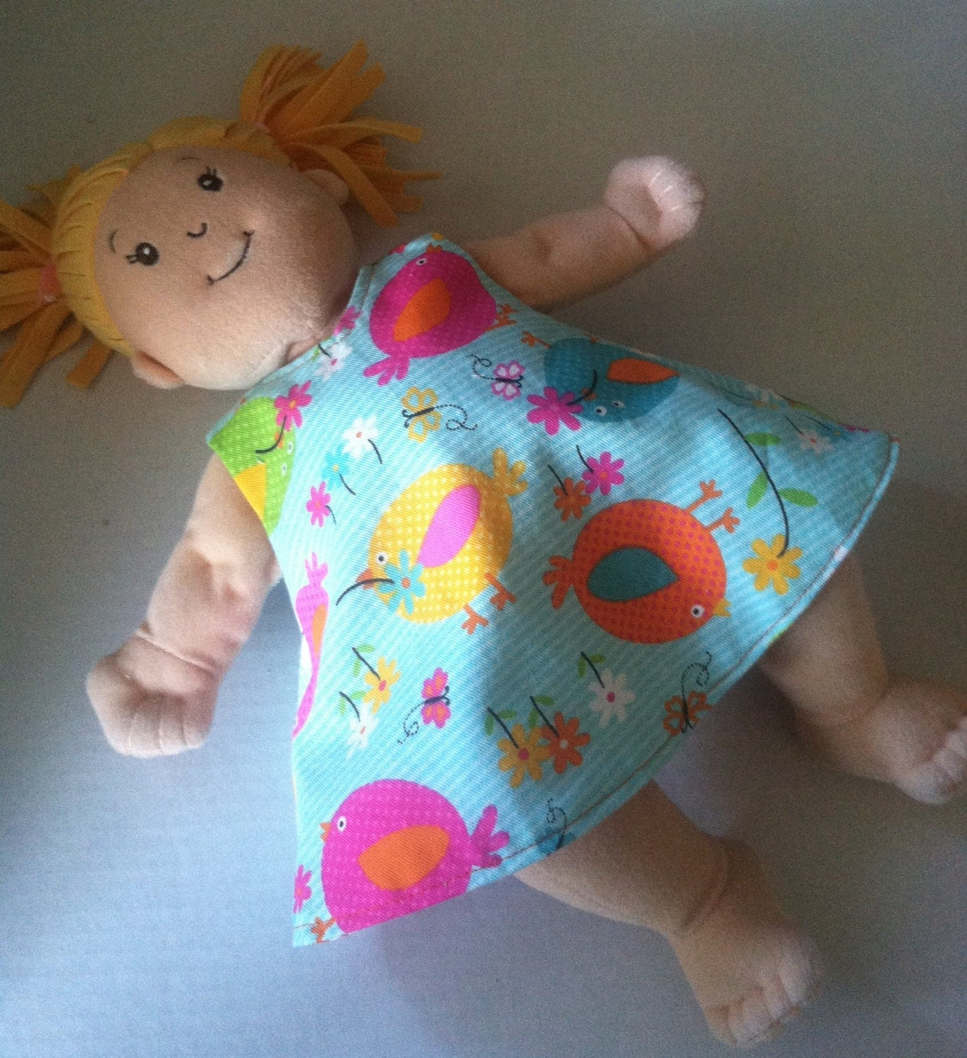 Baby Stella and Rosy Cheeks Doll 2 in 1 Reversible Dress for