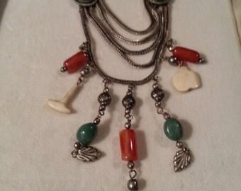 Vintage Signature Charm Necklace