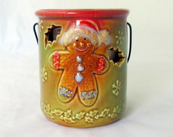 Caramel Apple, soy candle, gingerbread decor, contanier candle, decorative candle, scented soy candle, gingerbread candle, holiday candle
