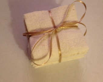 Lot of Fifty (56) - Four Inch Squares of 100% Cotton Batting