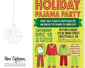 Popular items for pajamas party on Etsy