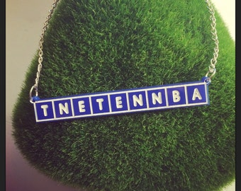 IT Crowd inspired Tnetennba Countdown Necklace