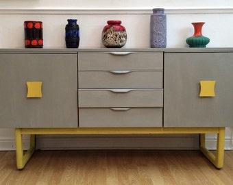 SOLD - Lemonchello Vintage Retro Sideboard/Storage/Server Mid Century Danish Influence