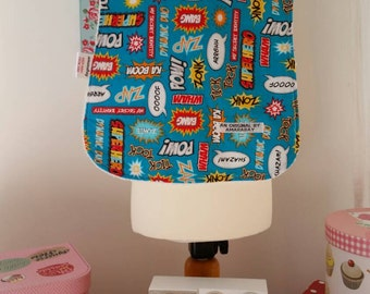 Pow!! A full bib for baby boy, great for dinner times!!