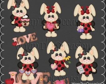 Love Some Bunny Exclusive CU Clipart