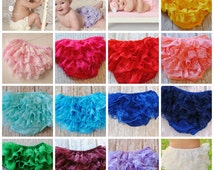 Bloomer Lace Bloomer Baby Diaper Cover Ruffle Bloomer Newborn Bloomer Petti Bloomer Baby Lace Bloomer  Newborn Baby Bloomer Photo Prop