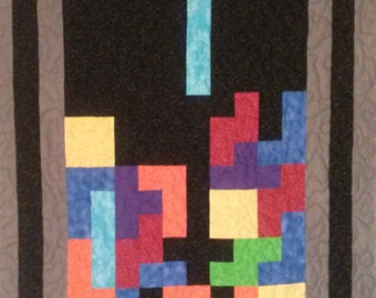 Tetris Throw Quilt