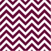 Maroon and white chevron heat transfer or adhesive  vinyl sheet large zig zag pattern HTV152