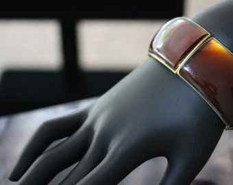 Great looking Vintage Root Beer Cuff Bracelet