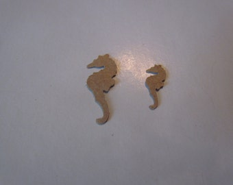 tiny sea horse die cuts