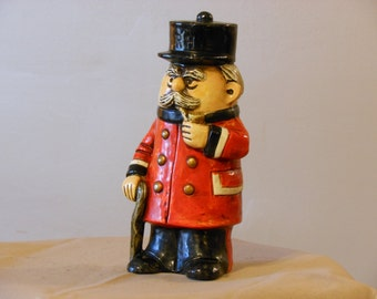 Vintage Chief Inspector Coin Bank