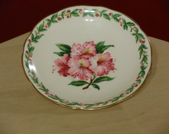 Gladstone English Bone China Laurel Time Pattern Saucer