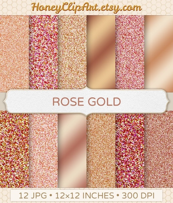 Gold and pink sparkle background
