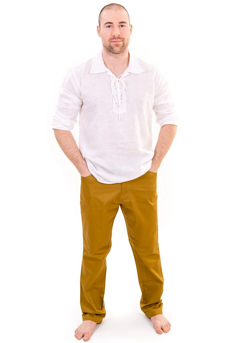 Online Buy Wholesale mens gauze pants from China mens
