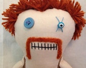 """Creepy n Cute Zombie Doll - """"Abraham"""" - Inspired by TWD"""