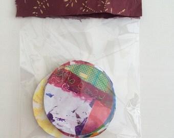 ART JOURNALING SCRAPBOOKING Craft Paper Supplies #14 Ooak