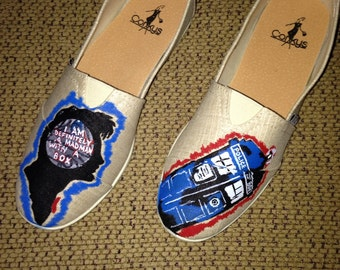Dr Who Inspired Womens Size 7 Corkys