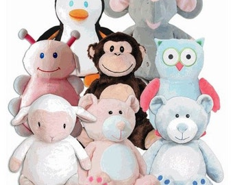 Personalized Cubbie stuffed animals for your little one!