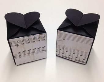 Music Note Favors Music Note Wedding Music Note Party Music Note Favor Boxes Music Note Decorations Music Note Decor Music Note Birthday