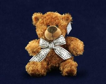 Wholesale Black Ribbon Teddy Bears (10 Teddy Bears) (TBEAR-17)