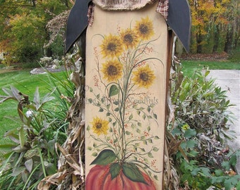 Autumn Harvest - Painted by Lynn Barbadora, Painting With Friends E Pattern